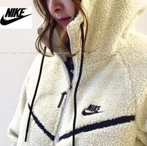 大人気♪男女兼用 NIKE TECH WINDRUNNER ICON SHRPA HOODIE /2色