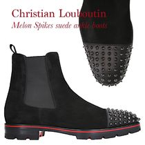 Christian Louboutin Melon Spikes スエードアンクルブーツ