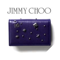☆JIMMY CHOO☆ BELSIZE カードケース BRIT BLUE / CHARM MIX♪