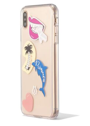 RIMOWA スマホケース・テックアクセサリー 【日本未発売】Transparent Stickers Case for iPhone XS Max(2)