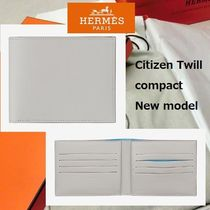 HERMES エルメス ●Portefeuille Citizen Twill compact●
