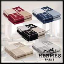 HERMES★Avalon III throw blanket★スローブランケット
