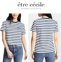 Etre Cecile(エトレ セシル) Tシャツ・カットソー Etre Cecile 犬バッジTシャツ