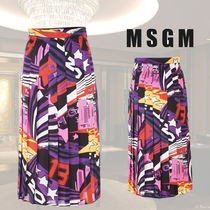 VIP価格【MSGM】multicolor skyline pop skirt 関税込
