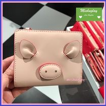 【kate spade】year of the pig★コンパクト財布 small shawn ★