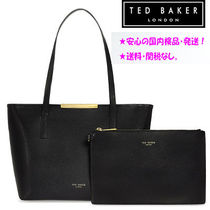 【TED BAKER】KYMトートバッグ(クラッチ付き) 黒