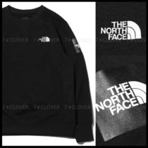 2019SS新作!国内発★THE NORTH FACE★SQUARE LOGO CREW★BLACK