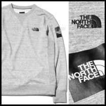 2019SS新作!国内発★THE NORTH FACE★SQUARE LOGO CREW★M.GREY
