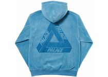 Palace Skateboards(パレススケートボーズ) パーカー・フーディ Palace Polartec Lazer Hood Dust Blue