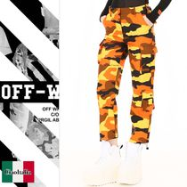 OFF WHITE Camouflage Cargo Pants