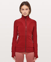 Movement To Movement Jacket*フィット+ハイネック*Dark  Red