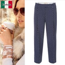 MICHAEL KORS  Cropped Polka Dots Trousers