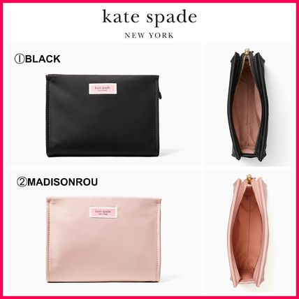 kate spade new york メイクポーチ 最新作!!☆kate spade☆サム ナイロン コスメポーチ