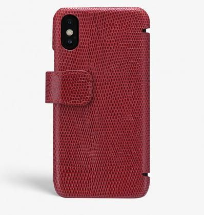THE CASE FACTORY スマホケース・テックアクセサリー 関税送料込☆THE CASEFACTORY☆IPHONE X/XS CARDCASE LIZARD(2)