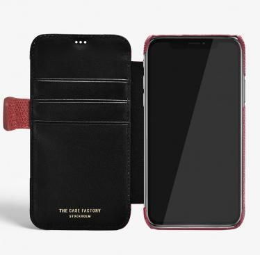 THE CASE FACTORY スマホケース・テックアクセサリー 関税送料込☆THE CASEFACTORY☆IPHONE X/XS CARDCASE LIZARD(4)