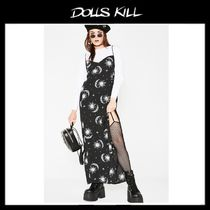 関税/送料込 *DOLLS KILL*CELESTIAL BATIS MAXI DRESS