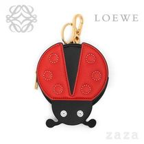 LOEWE★ロエベ Ladybug Cookie Charm Red/Black/Palladium
