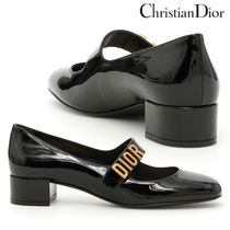 【Dior】Baby-D Patent Pumps