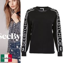 See by Chloe Pullover With Logo Embroidery