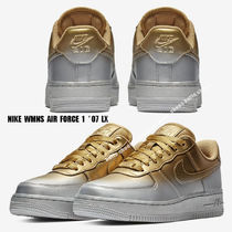 NIKE★WMNS AIR FORCE 1 '07 LX★メタリック★バイカラー