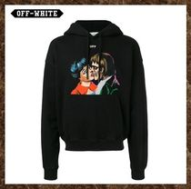 Off-White(オフホワイト)★KISS OVER HOODIE★(送料込み)