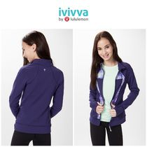 <ivivva>Perfect Your Practice Jacket グレープ サイズ14