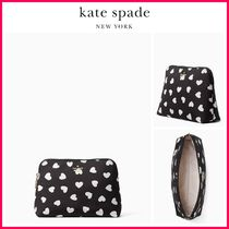 kate spade new york(ケイトスペード) メイクポーチ 最新作!!☆kate spade☆ワトソン ハート コスメポーチ