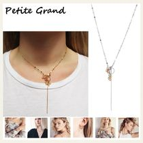 §Petite Grand§ 国内発送 淡水パール&シルバーネックレス