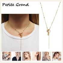 §Petite Grand§ 国内発送 淡水パール&14Kネックレス