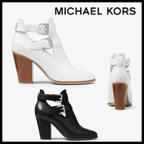 MICHAEL KORS Walden Leather Bootie レザーブーツ 送料関税込み