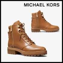 MICHAEL KORS Rosario Leather Combat Boot レザー 送料関税込み