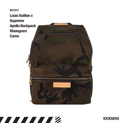 Supreme バックパック・リュック Louis Vuitton x Supreme Apollo Backpack Monogram Camo c4af7876ef