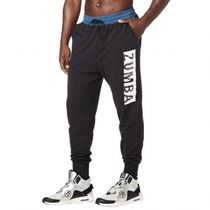 国内発送 ズンバ Zumba My Moves Men's Jogger Pants Bold Black