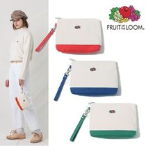 FRUIT OF THE LOOM(フルーツオブザルーム) ポーチ FRUIT OF THE LOOM★POINT COLOR POUCH