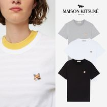 【MAISON KITSUNE】Fox Head Patch S/S Tシャツ(関税送料込)