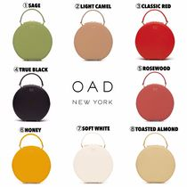 【OAD NEW YORK】大人気♡ CALF MINI CIRCLE SATCHEL
