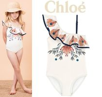 Chloeパリ発★可愛い♪ラッフル水着 (6-12Y) 2019SS