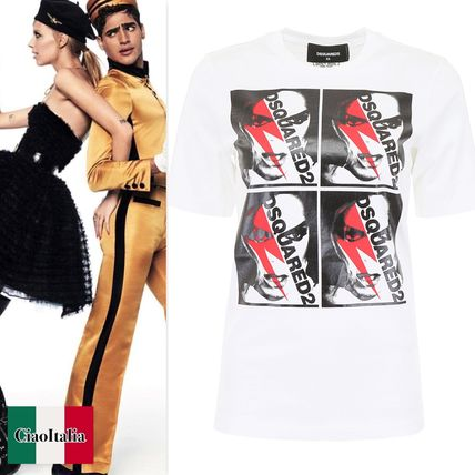 D SQUARED2 Tシャツ・カットソー ディースクエアード Printed T-Shirt