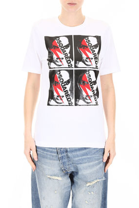 D SQUARED2 Tシャツ・カットソー ディースクエアード Printed T-Shirt(2)