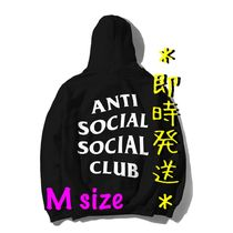 *即時発送* Anti Social Social Club Logo Hoodie Black (M)