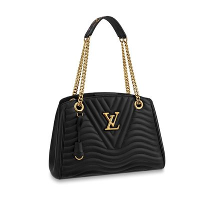 Louis Vuitton トートバッグ 19SS♪国内直営♪LOUIS VUITTON ニューウェーブ チェーントート(2)