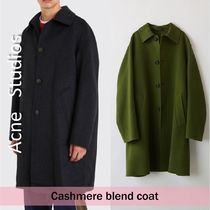 Acne Studios :: Cashmere blend coat :: FN-MN-OUTW000017