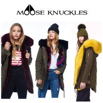 【MOOSE KNUCKLES】☆STELLER CANVAS PARKA(OLIVE)