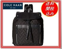 Cole Haan(コールハーン) マザーズバッグ 関税.送料込 Cole Haan Quilted Nylon Backpack  リュック