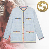 19Cruise【直営店】新作 グッチ Giacca in tweed ジャケット