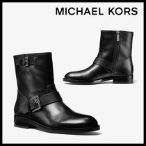 MICHAEL KORS Reeves Leather Moto Boot レザー 送料関税込み