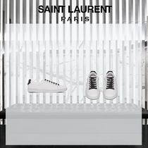 19SS Saint Laurent☆COURT CLASSIC SL / 06 LIPS ホワイト