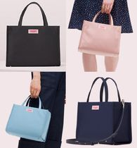 <2色展開> Kate Spade ★ Sam Nylon Medium Satchel