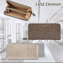 SALEえみり愛用**J & M Davidson**Elongated Zip Wallet★2色