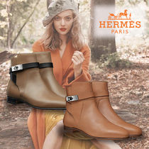 HERMES★Neo ankle boot ネオ アンクルブーツ taupe/palissandre